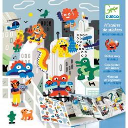 Histoires de stickers - L'invasion des monstres