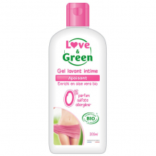 Gel lavant intime BIO - apaisant - 200 ml