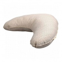Coussin d'allaitement - Leafed - Nature white