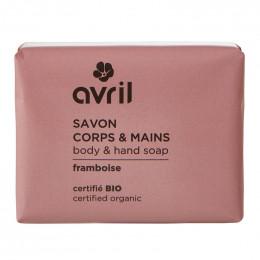 Savon corps et mains BIO - Framboise - 100 g