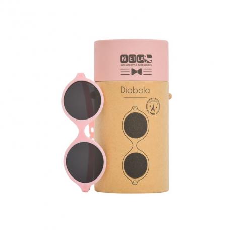 Lunettes de soleil bébé Diabola 2.0 - 0 à 1 an - Rose pâle