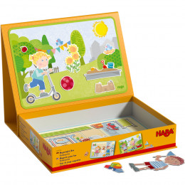 Boîte de jeu magnétique A la maternelle