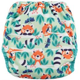 Couche lavable Pop-In V2 taille unique - Pandas roux