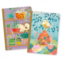 Set de 2 petits carnets - Marie