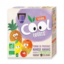 Cool Fruits - Pomme Mangue Ananas - 4 gourdes