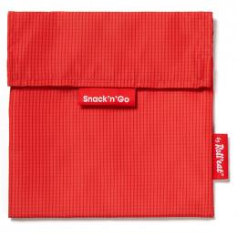Pochette lavable et réutilisable Snack'n'Go - Active Red