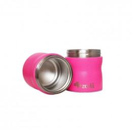 Boîte isotherme double en inox - 235 ml - Rose