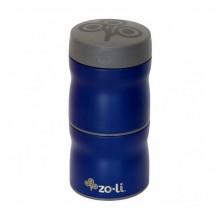Boîte isotherme double en inox - 235 ml - Bleu