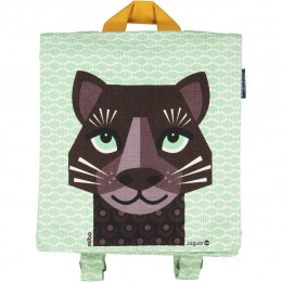 Sac à dos / cartable maternelle - Love Cats - Jaguar
