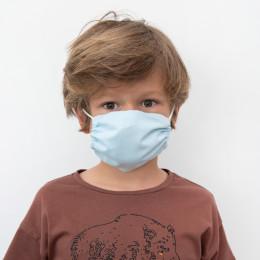 Masque buccal pour enfants - Soft blue