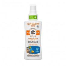 Lait solaire Bio - Haute protection SPF 30 - Spray 90 g