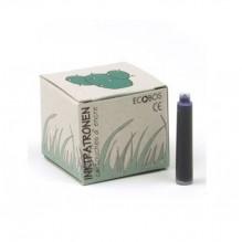 Cartouche d'encre bleue écologique - boîte de 25