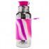 Gourde isotherme inox - modèle sport - 475 ml - Pink swirl