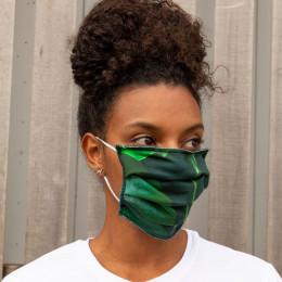 Masque buccal en coton bio - Green Forest