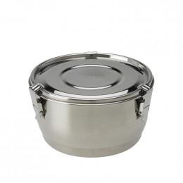 Bol en inox avec couvercle hermétique - 12 cm - 700 ml