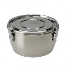 Bol en inox avec couvercle hermétique - 14 cm - 1,1 litre
