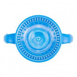 Tasse de transition 360° avec capuchon - 200 ml - Bleu