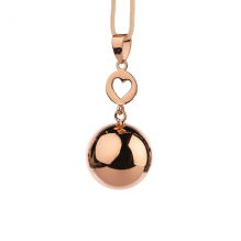 Bola - Rose gold heart