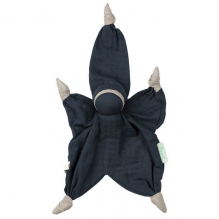 Doudou Sisco tétra - bleu marine - dès la naissance
