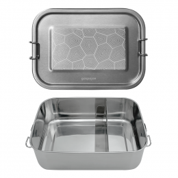 Lunch box Inox hermétique - Carapace - 800 ml