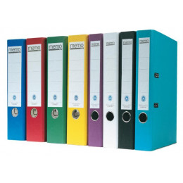 Classeur à levier recyclé en couleur
