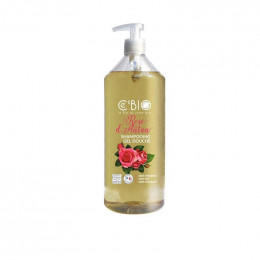 Shampooing Gel douche Bio - Rose d'Antan - 1 litre