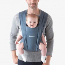 Porte-bébé Baby Carrier New born + Embrace - Oxford Blue