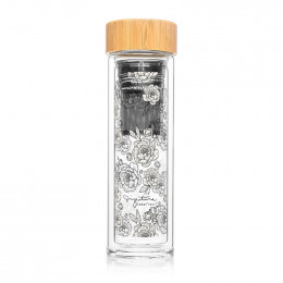 Bouteille infuseur nomade - Pivoines