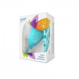 Coupe menstruelle LadyCup® - Turquoise