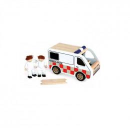 Ambulance en bois - à partir de 3 ans