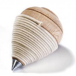 Toupie en bois avec corde en coton - à partir de 7 ans