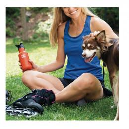 Gourde bouteille en inox  - 532 ml - Bouchon sport - Winter plum