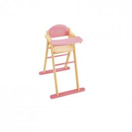 Chaise haute en bois - à partir de 3 ans