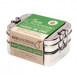 Lunch box - Three in One - Inox