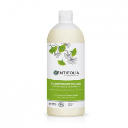 Shampooing douche Famille - Ginkgo - 500 ml