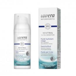 Fluide hydratant Bio visage - Neutral Ultra Sensitive - 50 ml