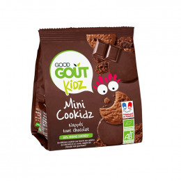 Mini Cookidz - Nappés tout chocolat - 115 g