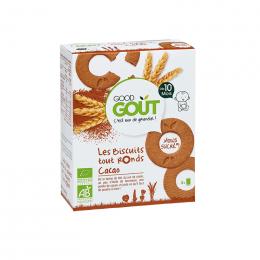 Les biscuits tout ronds Cacao - 80 g - Dès 10 mois