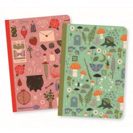Set de 2 petits carnets - Camille