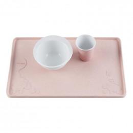 Set de table en caoutchouc - Pink