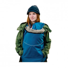 "Couverture de portage Flex ""Deluxe"" SoftShell - Cosmos blue Rock grey"