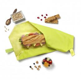 Pochette sandwich réutilisable Boc'n'Roll - Lime