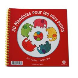 Cahier à colorier Mandalas  - Pour les plus petits - à partir de 4 ans