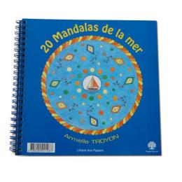 Cahier à Colorier - Mandalas de la Mer  - Pour les Petits - à partir de 5 ans