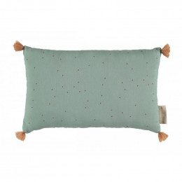 Coussin Sublim - toffee sweet dots & eden green