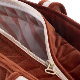 Sac de maternité Savanna velvet - Wild brown