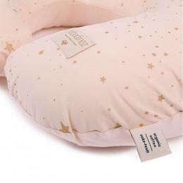 Coussin d'allaitement Sunrise - Gold stella & Dream pink