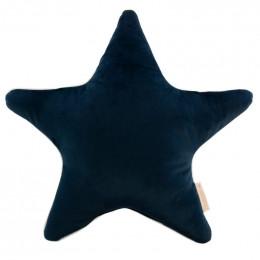 Coussin Aristote velvet - Night blue
