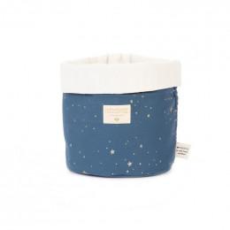 Panier Panda - Gold stella & Night blue - small