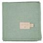 Boîte de 3 langes Baby Love - Eden green - 70 x 70 cm